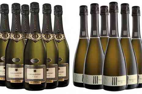 Italiana Choice - 12 Bottles of Prosecco and Cuvee Brut - Save 50%