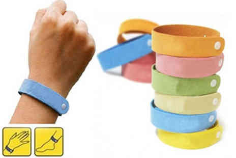 Aneeks - 20 Mosquito Repelling Bands - Save 86%