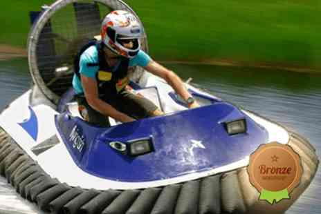 Hoverforce - One hour bronze taster hovercraft & gift voucher - Save 0%