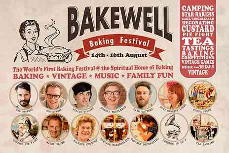 Bakewell Baking Festival - Two VIP Day Tickets to Bakewell Baking FestivalFor Family of Four  - Save 36%