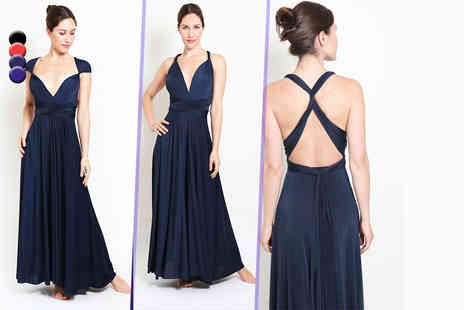 Kiana Fashions - Versatile midi or maxi dress in a choice of three colours Plus Delivery Included  - Save 71%
