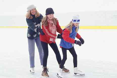 Fylde Coast Ice Arena -  Skate Hire and Drink - Save 35%