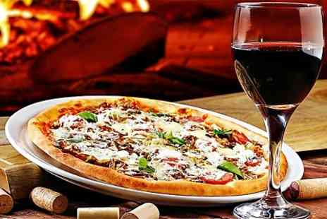 Da Maria - Pizza or Pasta With Wine For Two - Save 50%