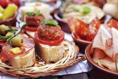 Departure Lounge - Six Tapas Dishes and Beer or Wine For Two - Save 65%