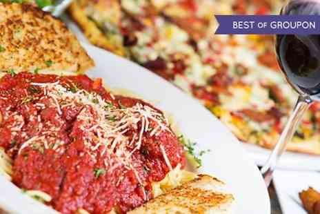 Salvatores Ristorante - Pizza or Pasta With Wine For Two - Save 0%