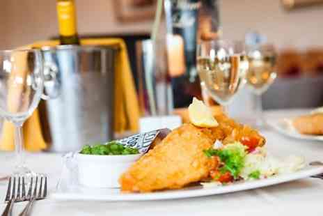 The Ship Inn - Fish and Chips, Pie or Burger Meal and Beer For Two - Save 0%