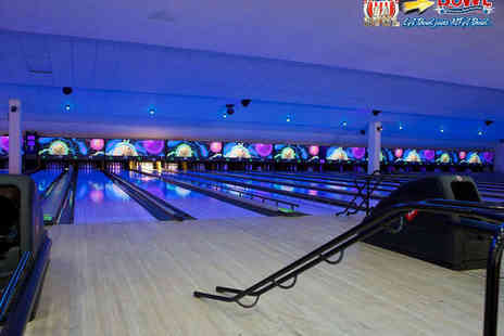 LA Bowl - Two Games of Bowling for Four - Save 74%