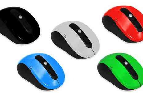 Gadget Central - 2.4GHz Wireless Computer Mouse - Save 0%