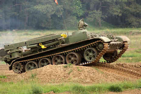 Spitfire alternative solutions activities - Two Hour Tank Riding Experience - Save 0%