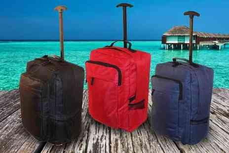 Pahal Trend - Cabin Sized Wheeled Suitcase - Save 73%