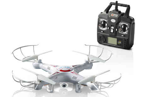 Eskkay  - X5C Explorers Quadcopter 6 Axis Heli Drone with Camera - Save 61%