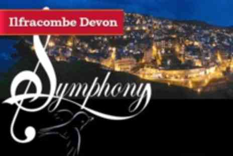 Symphony Bluebird - Two Night Summer Seafront Break in Ilfracombe Devon for Two with Breakfasts & Dinner Both Nights - Save 0%