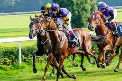 Brighton Racecourse - Two Tickets to  Brighton Racecourse & Bottle of Bubbly - Save 0%
