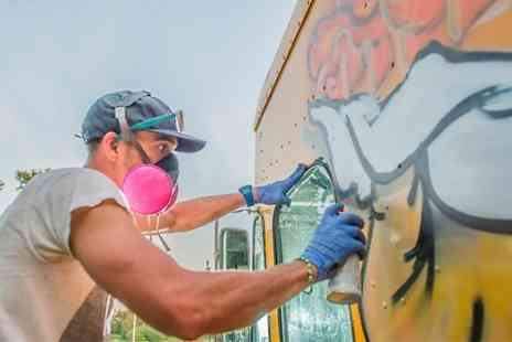 London West Bank - Two Hour Graffiti Class   - Save 57%