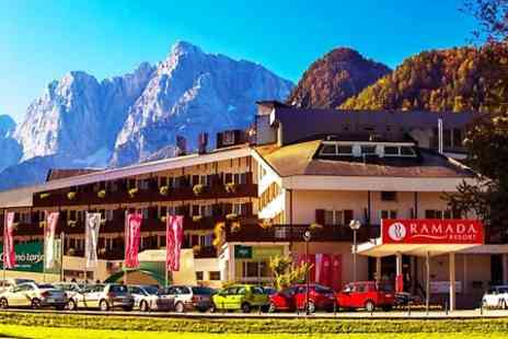 Ramada Resort Kranjska Gora - One to Three Nights stay For Two With Half Board, Water Park and Casino Access - Save 0%