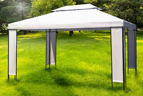 Vida XL - Large luxury garden gazebo   - Save 0%