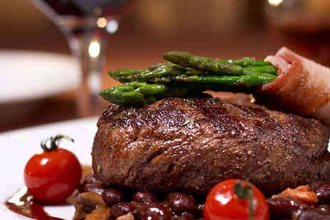 A Bari Italian Restaurant - Starter, Steak Main Course, and Glass of Wine Each for Two  - Save 54%