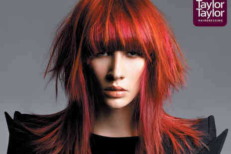Taylor Taylor Hairdressing - Restyle Haircut, Finish, and Intensive Salon Treatment or with Full Head of Colour  - Save 0%
