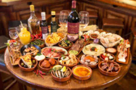 Woodford Mill Tea Rooms - Eight Tapas Dishes to Share with Wine for Two - Save 40%