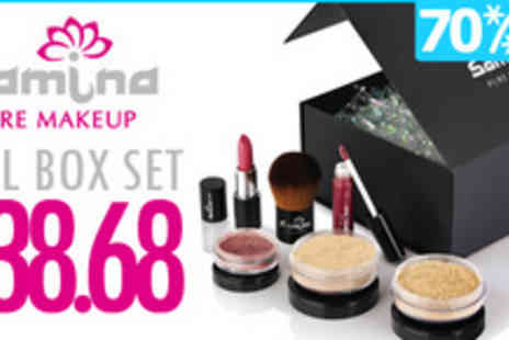 Samina Pure Makeup - You will be made up with a complete box of the highest quality natural - Save 70%
