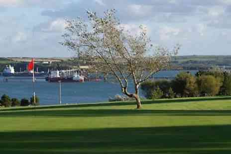 Milford haven golf club -  18 Golf Holes and Bacon Roll For Two  - Save 45%
