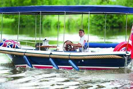 AV BOATS - Boat Hire For Up to Ten - Save 57%