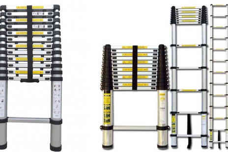 Turborevs - 3.8m Telescopic Ladder - Save 47%