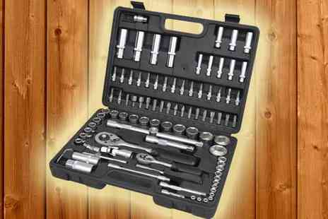 Tool Collection - 94 Piece Socket Set with Screwdriver Bits - Save 0%