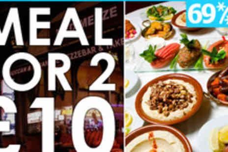 Med Mezze - A Taste of the Med for £10 with 69% off a meal for two - Save 69%