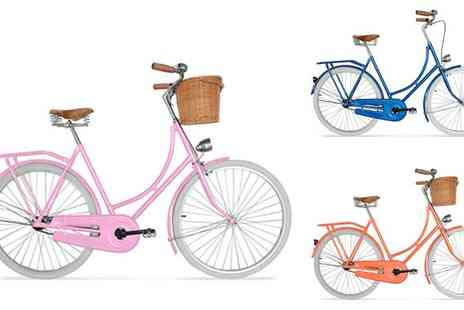 Oxygen Corp - Vintage Look Bicycle with Basket - Save 67%