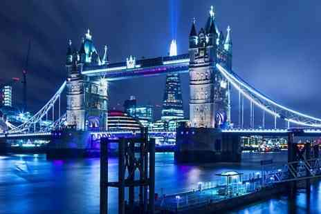 Thames Party Boats - Thames Party Boat Tickets With Sparkling Wine and Snacks  - Save 59%