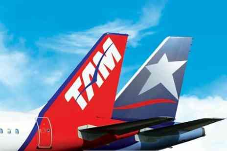 TAM Airlines - Brazil, Argentina or Chile Return Flights from London with TAM Airlines - Save 0%
