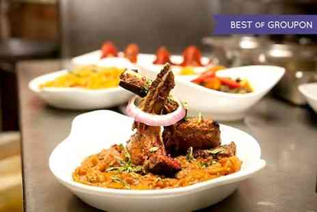 The Delhi Restaurant - Two Course Indian Meal For Two - Save 0%