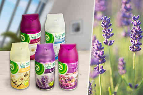 Merchtopia - Five 250ml Air Wick Freshmatic spray refills - Save 42%