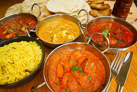 Sherwoods Restaurant - Three course Indian meal for two including a side of Bombay aloo  - Save 51%