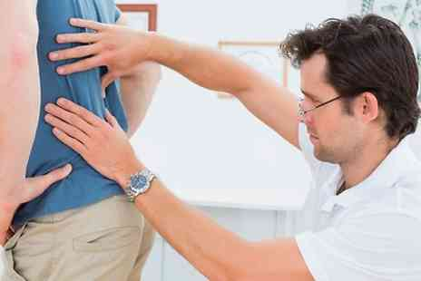 Herts Beds Chiropractic Clinic - Chiropractic Neck and Back Consultation With Three Treatments - Save 79%
