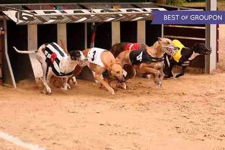 Doncaster Greyhound - The Dog Races With Food and Drink For Two - Save 66%