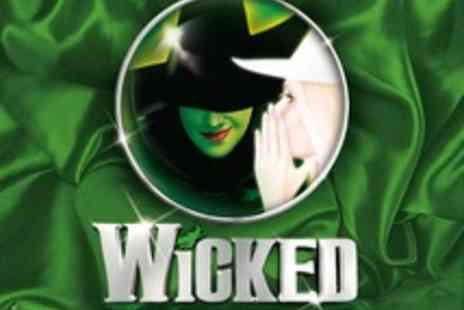 Ingresso - Wicked Tickets and Two Course Meal  - Save 0%