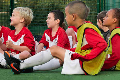 Little Sports Coaching - Ten Childrens Football Coaching Sessions with FA Qualified Coaches and Kit - Save 70%