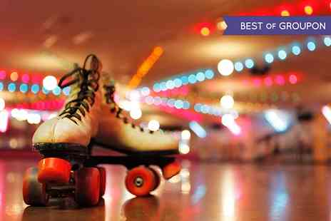 RetroCity - Giant Roller Skating Rink Entry for £4 - Save 50%