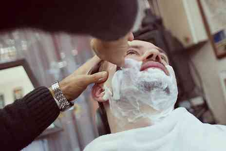 Gilroys Gentlemans Barber - Gent's Cut and Finish With Hot Towel Shave (£9.90) or Back Massage (£12.90) - Save 59%