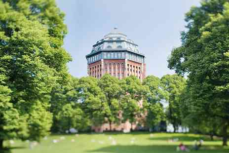 Movenpick Hotel hamburg - Four Star stay in an old water tower with breakfast, free room upgrade & welcome drink - Save 47%
