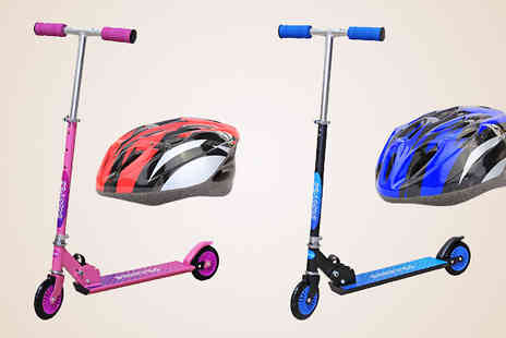 BamBam Toys - Childrens Stunt or Kick Scooter with Optional Helmet - Save 33%
