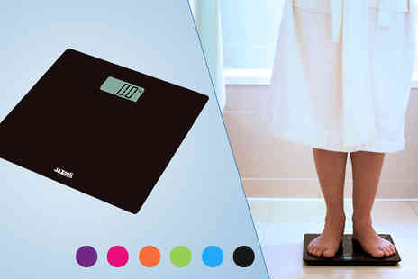 Gadget Central - Glass Digital Bathroom Scales - Save 47%