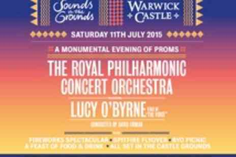 Warwick Castle - Sounds in the Grounds at Warwick Castle Tickets for Royal Philharmonic Concert Orchestra and Lucy O'Byrne - Save 26%