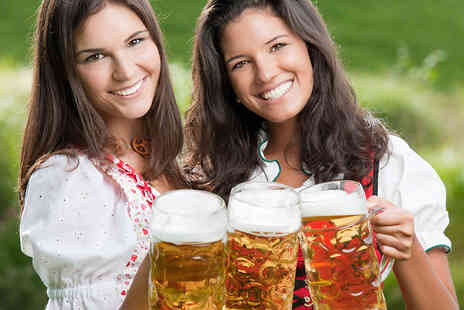 Oktoberfest - Oktoberfest Tickets with Beer & Food in Nottingham or Leicester - Save 46%