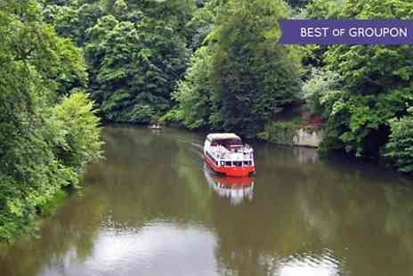 Prince Bishop River Cruiser - Durham River Boat Cruise For Two  - Save 50%