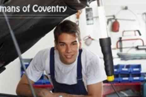 Chapmans of Coventry - Car Service With Oil and Filter Change, Engine Diagnostic Reading and Mini Valet - Save 82%