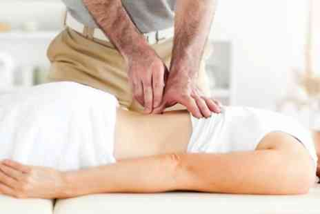 The Back Pain Centre - Chiropractic Exam With One Treatments  - Save 84%
