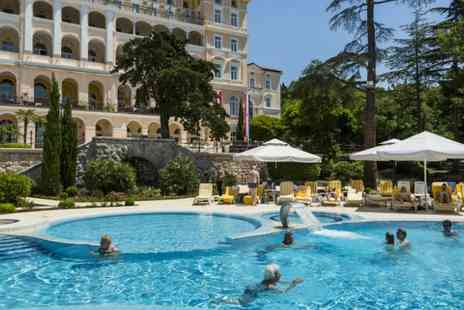 Hotel Kvarner Palace - Three, Five or Seven nights stay with  half board, wellness & more - Save 29%